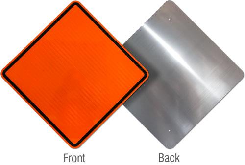 Rigid Aluminum Sign