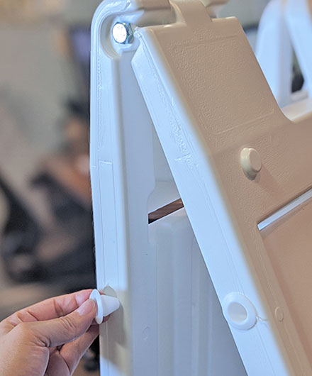 Signicade Deluxe A-Frame Fill Holes