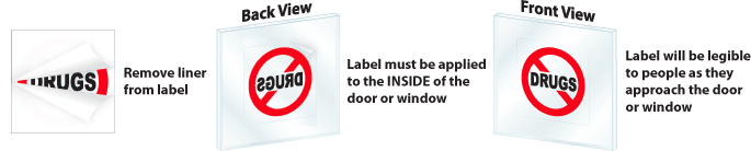 Face Adhesive Labels