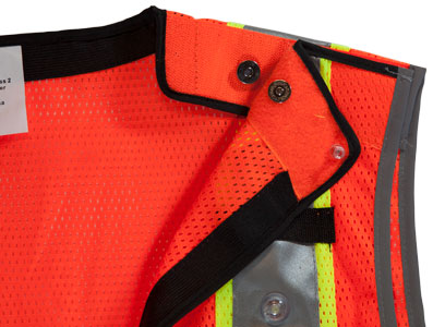 LED Vest Contacts for Back Lights