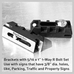 Parking Sign Fence Bracket