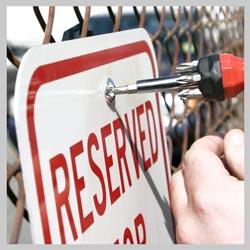 Traffic Sign Fence Bracket