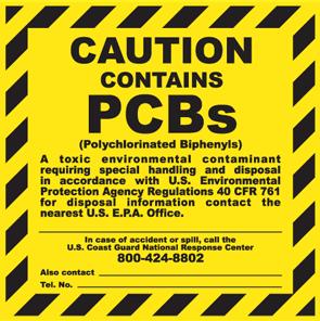 No PCB Compliant labels