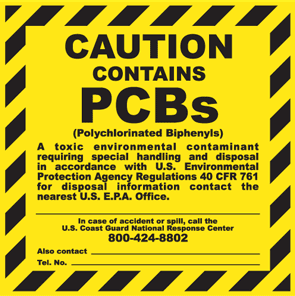 No PCB Compliant labels