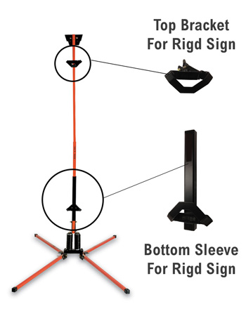 Little Buster Roll Up Sign Stand