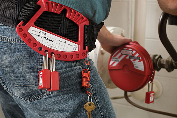 Safety Padlock Caddy S125 Application 2