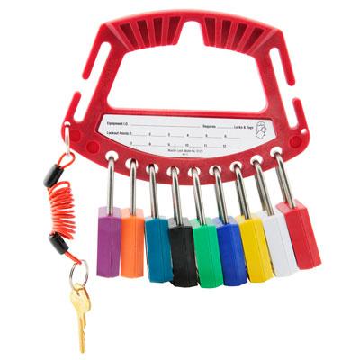 Master Lock Safety Padlock Caddy C3513-S125