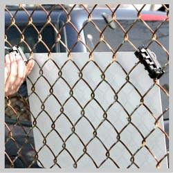 Parking Sign Fence Bracket