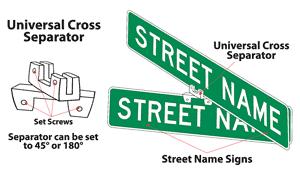 Street Name Sign Brackets
