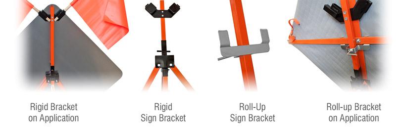 Tripod Sign Stand Brackets