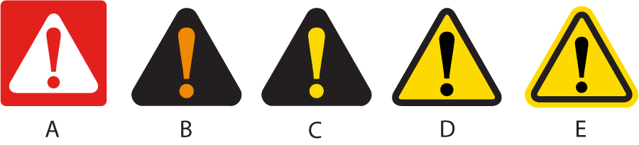 Safety Alert Symbols