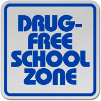 Drug Free School Zone;