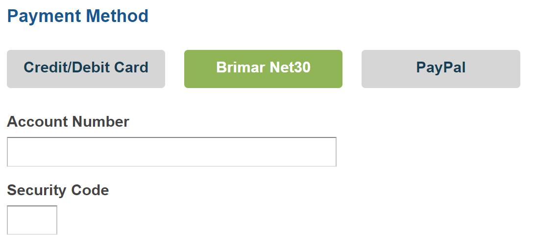 Net30 Payment