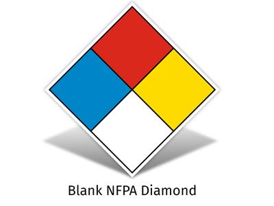Blank NFPA Diamond