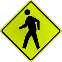 Pedestrian Crossing Sign;
