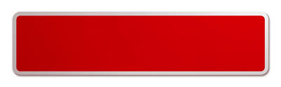 Blank Red Street Name Sign with Border