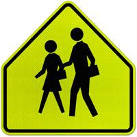 School Zone Sign;