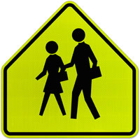 School Zone Sign;