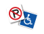 Large Selection of Parking Signs